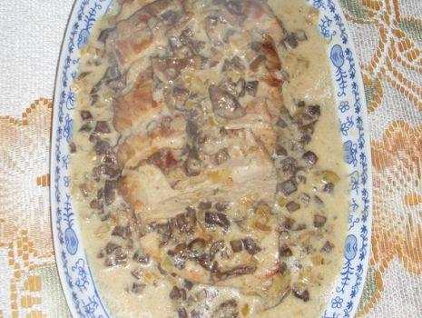 Przepis: Pieczeń grzybowa ze świeżych grzybów