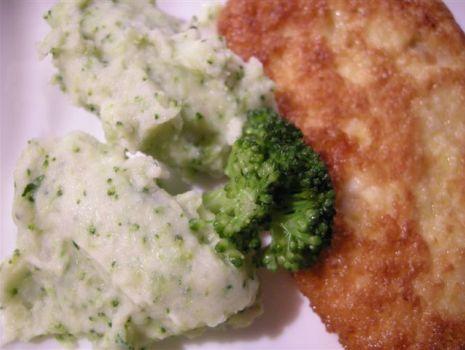 Przepis: Puree z brokułem