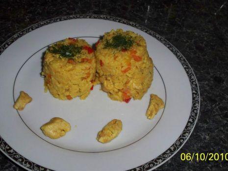 Przepis: ryż z warzywami !!