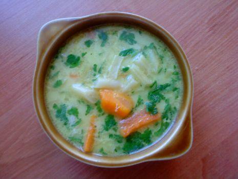 Przepis: Zupa z fasolki szparagowej