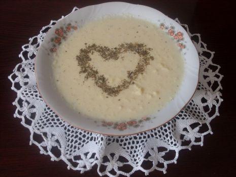 Przepis: Zupa z serka topionego