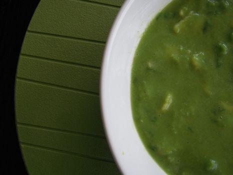 Przepis: Zupa krem z groszku