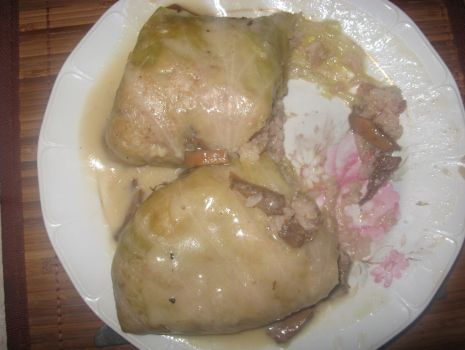 Przepis: Pyszne gołąbki z ryżem i mięsem