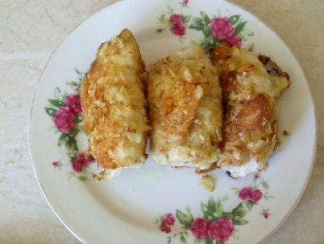 Przepis: Piersi z kurczaka w migdałowej panierce