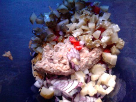 Przepis: Sałatka/pasta z tuńczyka na kanapki