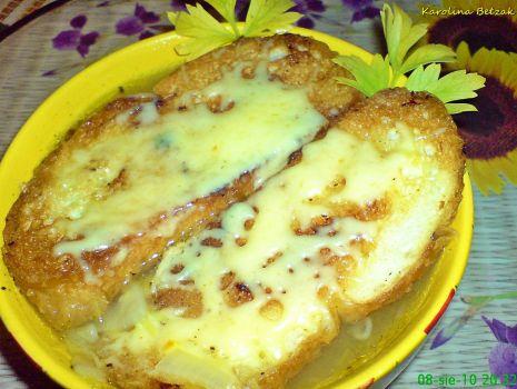 Przepis: Zupa cebulowa alla francuska
