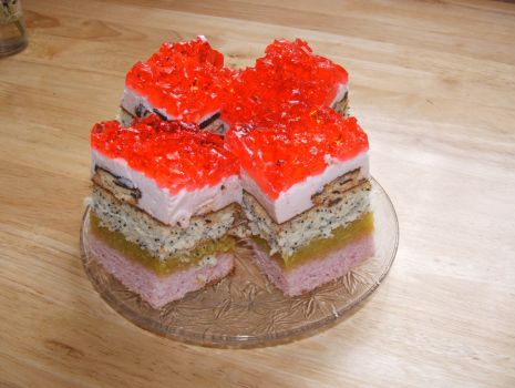 Przepis: Ciasto z galaretką
