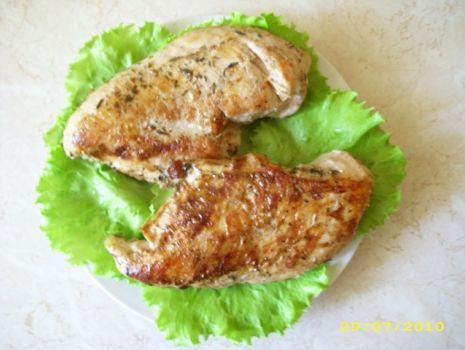 Przepis: Piersi z kurczaka