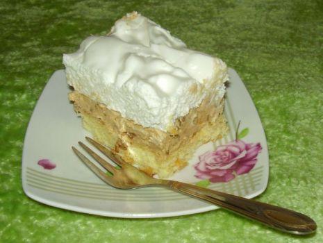 Przepis: Ciasto słonecznikowe z masą krówkową