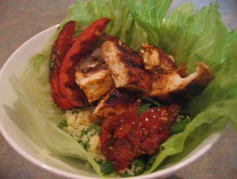 Przepis: grillowana sałatka z kuskus