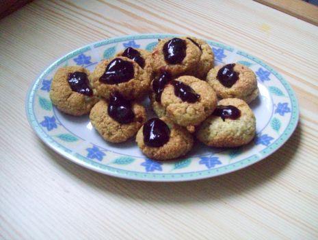 Przepis: Ciasteczka jak kluski śląskie