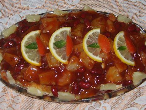 Przepis: Ryba ze sosem słodko-kwaśnym