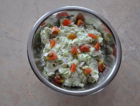 Przepis: Szybka obiadowa sałatka