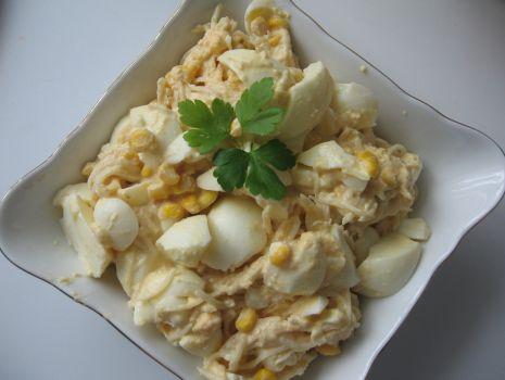 Przepis: sałatka chrzanowa z jajkiem