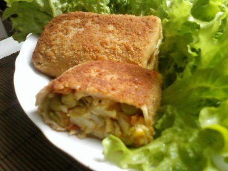 Przepis: Krokiety z warzywami i serem