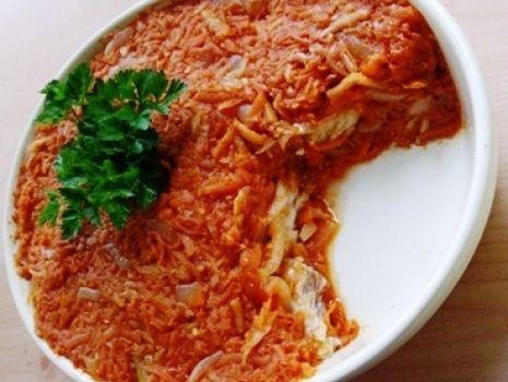 Przepis: Ryba w sosie greckim