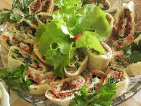 Przepis: Tortilla z tuńczykiem.