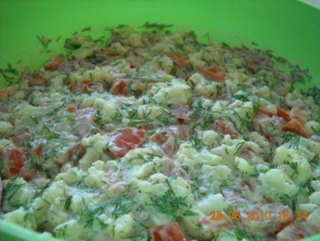 Przepis: Kalafiorowa sałatka