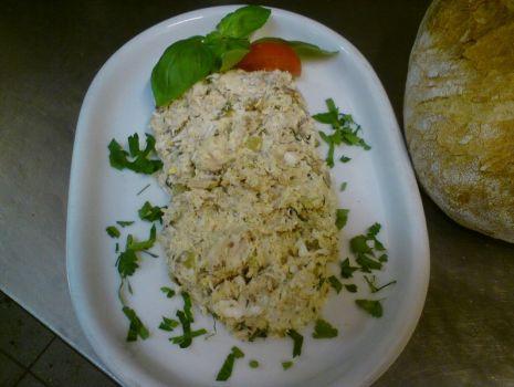 Przepis: Pasta z makreli wędzonej