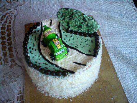 Przepis: Tort z samochodzikiem