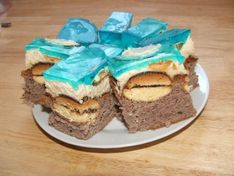 Przepis: Ciasto biszkoptowe