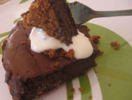 Przepis: podwójnie czekoladowy sernik