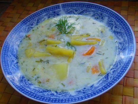 Przepis: Zupa z fasolką szparagową