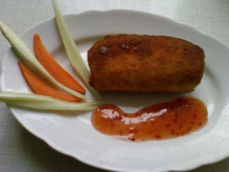 Przepis: Mix krokiety z makaronem ryżowym