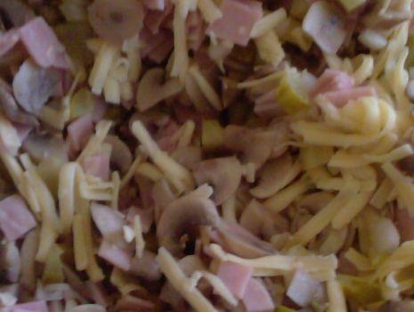 Przepis: Szybka sałatka pieczarkowa Dany