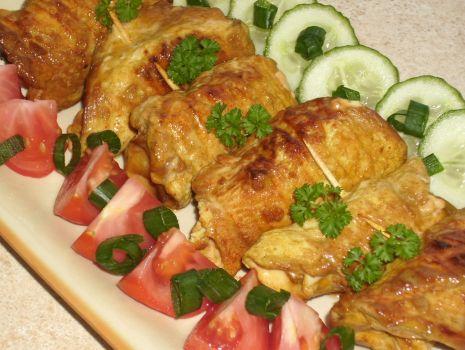 Przepis: Pierś kurczaka marynowana w sosie sojowym