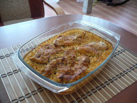 Przepis: Kurczak na ryżu