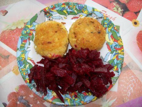 Przepis: Kotleciki z jajek i ryżu