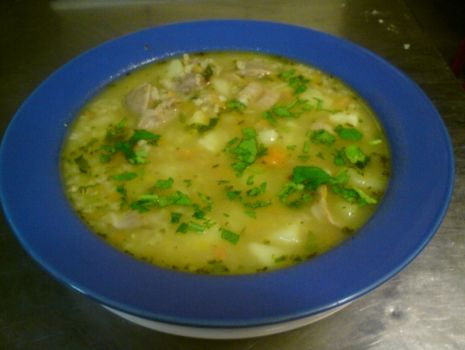 Przepis: Zupa krupnik