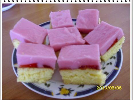 Przepis: ciastko z truskawkami