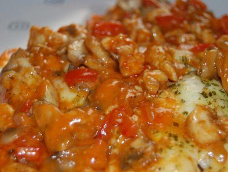Przepis: Zapiekane danie z kurczaka
