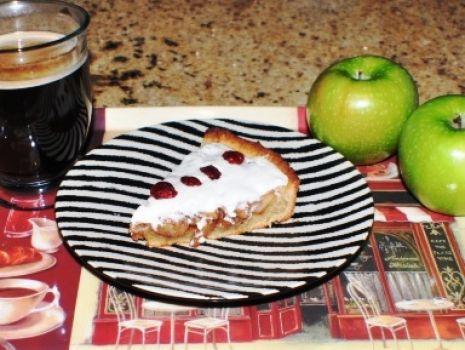 Przepis: Ciasto jabłkowe pod (dietetyczną) pierzynką