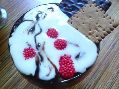 Przepis: Potworrrnie smaczny deser:-)