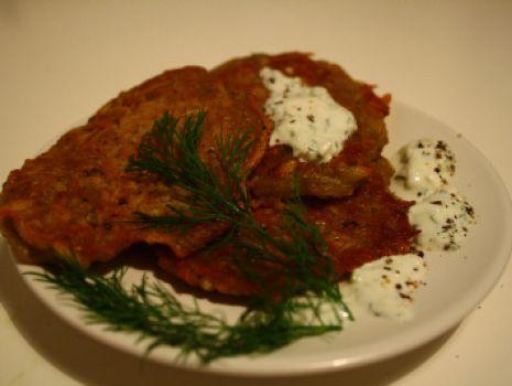 Przepis: Inne placki ziemniaczane z sosem tzatziki