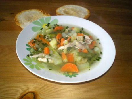 Przepis: Zupa kalarepowa