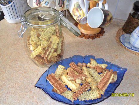 Przepis: kruche ciasteczka z maszynki