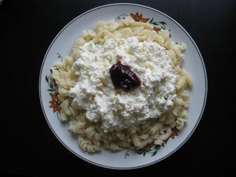 Przepis: Makaron ze serem