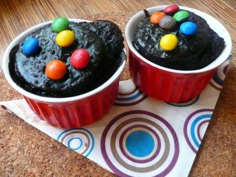 Przepis: Mega czekoladowe muffinki kids !!!