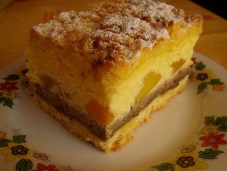 Przepis: Serowa brzoskwinka