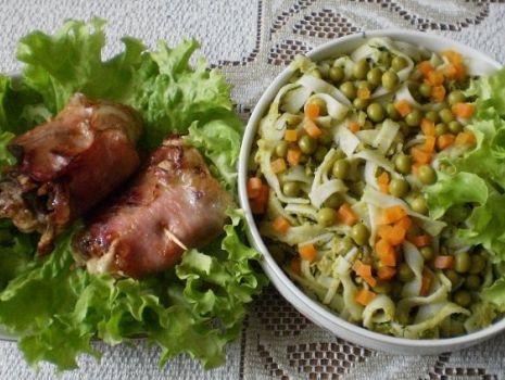 Przepis: Gotowany kurczak w wędzonce :