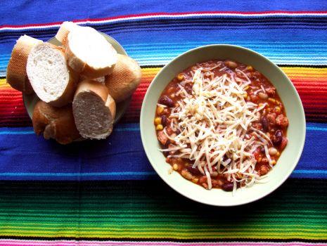 Przepis: Pyszna zupa meksykańska