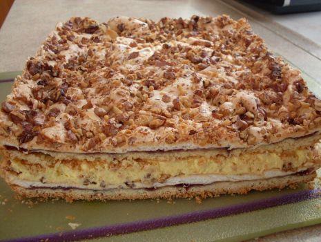Przepis: Królewskie ciasto