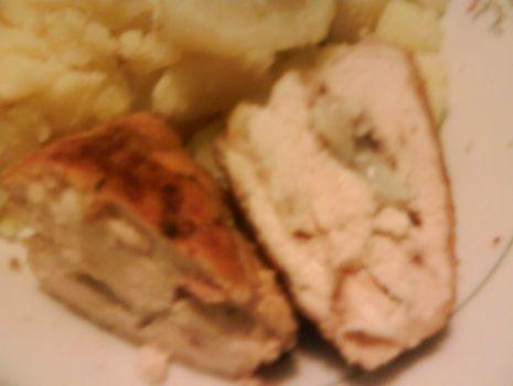 Przepis: Pierś kurczaka z liczi
