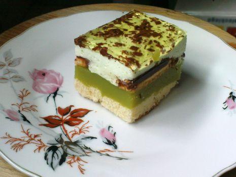 Przepis: Shrek - zielone ciasto