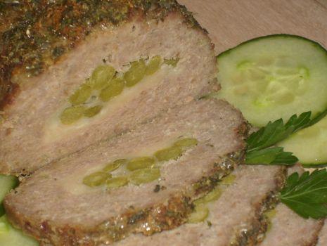 Przepis: pieczeń z mięsa mielonego