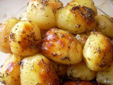 Przepis: Ziemniaki pieczone